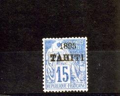Tahiti_   Surchargé 1893  N°24 - Tahiti