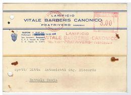 Cartolina Commerciale Pratrivero - Lanificio Vitale Barberis Canonico - 1947 - Biella