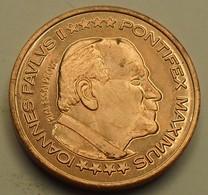 Vatican - ND - 5 CENT D'EURO, ESSAI, PROBE, Jean Paul II - EURO