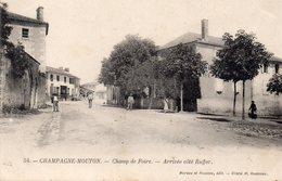 Champagne-mouton-champ De Foire-arrivée Côté Ruffec-très Bon état - Autres Communes