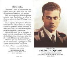 Vittime Nazismo: S.d.D. SALVO D'ACQUISTO - M - A - Mm. 72 X 130 - Religione & Esoterismo