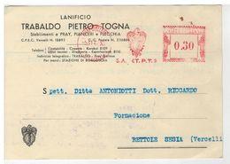 Cartolina Commerciale Pray Biellese Pianceri Lanificio Trabaldo Pietro Togna - Biella