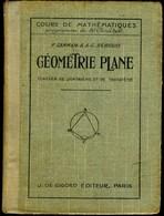 GEOMETRIE PLANE - 1937 - Livres, BD, Revues