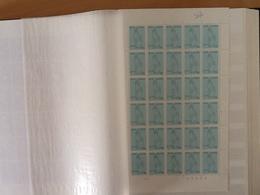 Nr.1224 Concentratiekampen  Plaatnummer 3 (zie Foto's) - Full Sheets