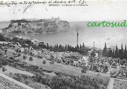 MONACO - LE ROCHER ET LE CIMETIERE - Monaco