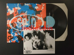 """SP!N – Scratches (In The Sand) SPIN 1990 UK 12"""" + Promo Picture - 45 Rpm - Maxi-Single"""
