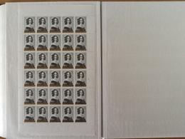 Nr.1234** Koninginnen Van België  Plaatnummer 4 (zie Foto's) - Full Sheets