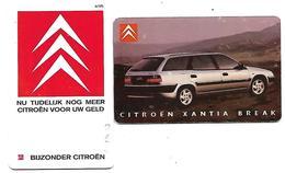 @+ Lot De 2 Télécartes à Puce Des Pays-Bas - Citroen - Publiques