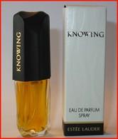 Estée LAUDER : Knowing Vapo : Eau De Parfum, 5 Ml, Parfait état - Miniatures Modernes (à Partir De 1961)