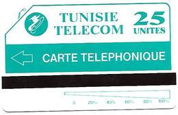 @+ Tunisie - Télécarte Urmet Tunisie Telecom - 25U Videotex - Ref : TUN-TT-0004 - Tunisie