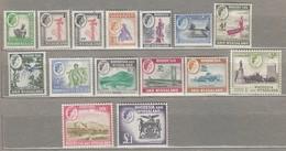 RHODESIA NYASALAND 1959 Mi 19-33 SG 18-31 MNH (**) Read #23454 - Rhodesia & Nyasaland (1954-1963)