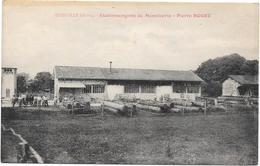 Dienville - Etablissements De Menuiserie - Pierre Boget - Cpa - France