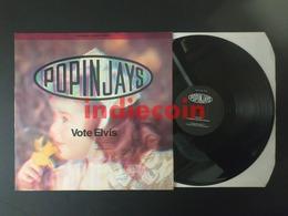"""12 POPINJAYS Vote Elvis 1990 UK 12"""" - 45 T - Maxi-Single"""