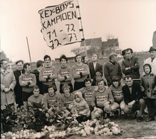 IDDERGEM   FOTO 1973  - 14 X 13 CM -  KEYBOYS - Denderleeuw