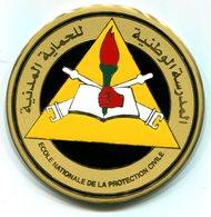 Médaille Souvenir De L'Ecole Nationale De La Protection Civile Algérienne - Pompiers