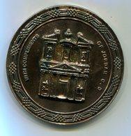 Médaille Souvenir De La Défense Civile De Jordanie - Pompiers