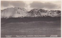Argentine Carte Photo Tierra Del Fuego Ushuaia Montes Marciales Photo Kohlmann N° 810 - Argentina