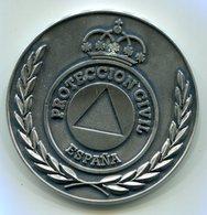 Médaille Souvenir De La Direction Générale De La Protection Civile Espagnole - Pompiers