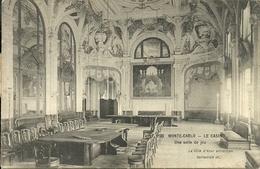 Principaute De Monaco, Montecarlo, Le Casinò, Une Salle De Jeu - Casinò
