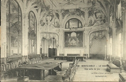 Principaute De Monaco, Montecarlo, Le Casinò, Une Salle De Jeu - Casino