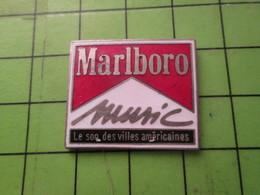 1518a Pin's Pins / Beau Et Rare / THEME MUSIQUE : MARLBORO MUSIC LE SON DES VILLES AMERICAINES - Music