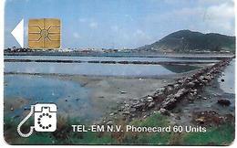 @+ Saint-Martin - Bach - Gem1B Red - Ref : SX-TEM-0005B - Antilles (Neérlandaises)