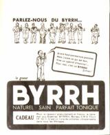 """PUB  """" BYRRH  """"  """" Le Gosse """"  1937 ( 1 ) - Other"""