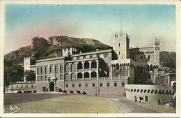 Principaute De Monaco, Le Palais Du Prince Et La Tete De Chien - Palazzo Dei Principi