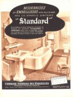 """PUB SALLE DE BAINS """" STANDARD """" 1938 (4) - Other"""