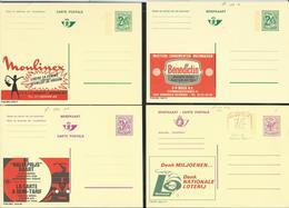 Publibel Neuve N° 2606 + M1 - 2382 - 2487 - 2576 - Entiers Postaux