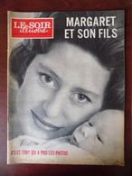 """Le Soir Illustré"""" N° 1536 Margaret Et Son Fils - Sophia Loren - Florelle - La France à L'heure Du Terrorisme... - Informations Générales"""