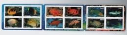Polynésie Neuf **  Carnet  C882 2009 Neufs** Fishes Poissons 882/893 C:28 - Carnets