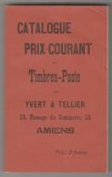 1 Catalogue Yvert Et Tellier Des Timbres Poste - France