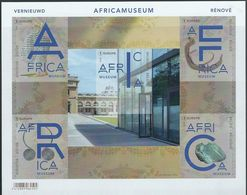 BELGIE 2018  AFRICA MUSEUM NEUF MNH  IMPERFORATED ND VF - Belgique