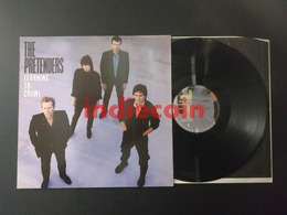 33T PRETENDERS Learning To Crawl 1984 FRANCE LP - Rock