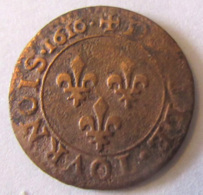 France - Monnaie Double Tournois Louis XIII 1616 A (Paris) - TB - 1610-1643 Louis XIII Le Juste