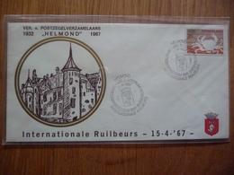(D) NEDERLAND FDC VER V POSTZEGEVERZAMELAARS HELMOND 15-04-1967 - FDC