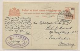 Nederlands Indië - 1929 - 5+5 Cent Opdruk Op 12,5+12,5 Cent, Briefkaart G43 Weltevreden-Bandoeng - Dubbel Gebruikt! - Netherlands Indies