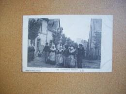 Carte Postale Ancienne: La Gavotte à Beuzec - Beuzec-Cap-Sizun