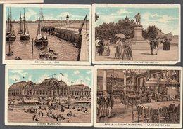 Royan (17 Charente Maritime) Lot De 4 Images  (PPP16075) - Old Paper
