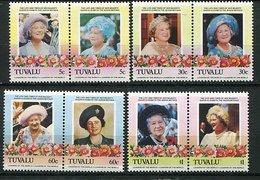 Tuvalu ** N° 319 à 326 - 85ans De La Reine Mere Elizabeth - Tuvalu
