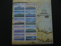 Burkina Faso 1999  Ships  Sheetlet  SCOTT No.1133  I201807 - Burkina Faso (1984-...)