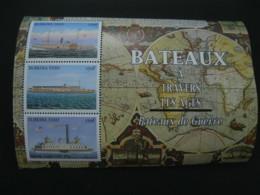 Burkina Faso 1999  Ships  Sheetlet  SCOTT No.1131  I201807 - Burkina Faso (1984-...)