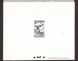 MONACO TRES RARE EPREUVE DE LUXE Du Timbre N° 323 Ayant Appartenu à L'artiste M MUNIER - Lots & Serien