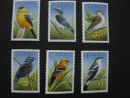 Burkina Faso 1998  Birds SCOTT No.1098-1103  I201807 - Burkina Faso (1984-...)