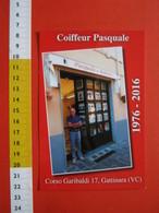 G.2 ITALIA GATTINARA VERCELLI - NO VG. 2016 PARRUCCHIERE COIFFEUR BARBIERE X 40 ANNI - Negozi