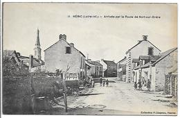 HERIC - Arrivée Par La Route De Nort Sur Erdre - France