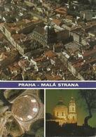 """Praha (Cecoslovacchia) Mala Strana, Views, Vues, Ansicht, Thematic Stamp 3 Kes """"Container Ship"""" - Repubblica Ceca"""