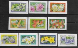 VANUATU   N°     * *  Timbre Adhesif  Fleurs - Plants