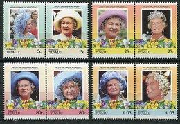 Tuvalu-Funafuti ** - 85ans De La Reine Mere Elizabeth - Tuvalu